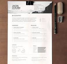 Best Designed Resumes Cool Design Resume Template 16 25 Best Ideas About Cv Template On