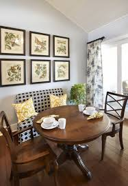 Dining Room Wonderful Booth Seating Like For My Dining Room Windows Just The Idea Of A Small Curtain