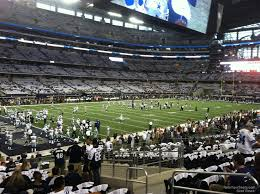 Dallas Cowboys Stadium Map by At U0026t Stadium Section 119 Dallas Cowboys Rateyourseats Com