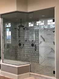 Glass Bathroom Showers Frameless Glass Shower Doors Custom Made Baron Glass Denver