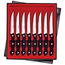 maxam kitchen knives amazon com maxam 8pc steak knife set home improvement