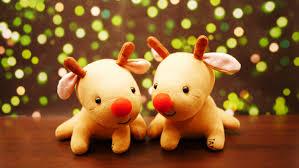 little rudolph sock plush tutorial diy red nose reindeer for