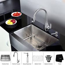 kitchen faucets with soap dispenser 30