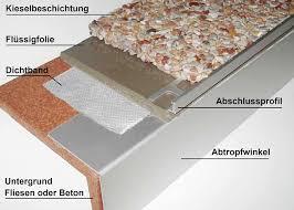 steinteppich balkon 1 5kg steinteppich bindemittel und 25kg mamorsteine 2 4qm mwd