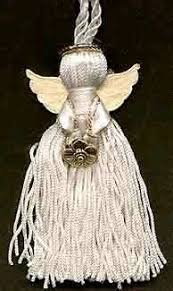 ribbon and tassel angel ornament tutorial so sweet this would