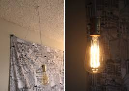 Light Bulb Chandelier Diy Hanging Light Bulb Lights With Simple Diy Exposed And 7 Lb2 On