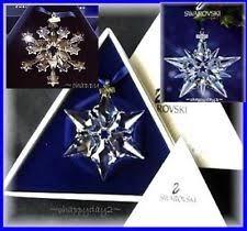 swarovski snowflake ornament 2004 ebay