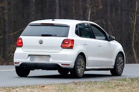 polo volkswagen interior spyshots vw polo facelift details revealed first interior photo