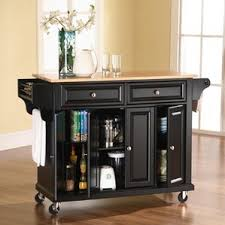 kitchen cart and island black kitchen islands carts you ll wayfair