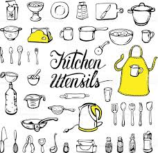 kitchen appealing kitchen utensils vector 57599907 tools baking