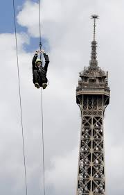 you can now zip line off the eiffel tower instyle com