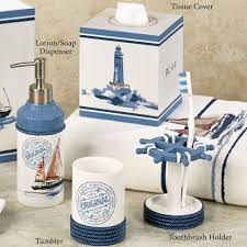 themed soap dispenser bathroom drop gorgeous nautical themed bathroom decorating ideas