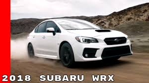 2018 subaru wrx engine 2018 subaru wrx on and off road youtube