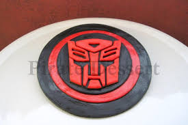 transformer cake toppers edible transformers cake topper autobots logo autobots cake