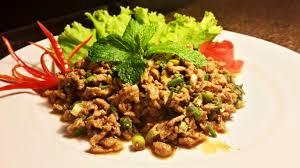 cuisine thailandaise traditionnelle la recette thailandaise du laab de boeuf allo thailande