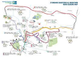 Utk Map Kl Marathon Race Info Road Closure Road Closure Map
