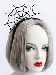 lace accessories spider web lace hairband black hair accessories