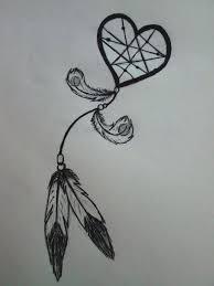 52 best heart shaped dreamcatcher tattoo images on pinterest