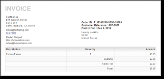example of a invoice purchase orders knowledge base