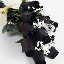 roses bouquet black wax dipped roses bouquet jewelry candles jewelry bath