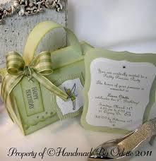 a tinkerbell invitation for laura odette u2026