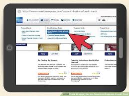 how to apply for an american express credit card with pictures