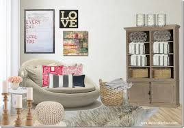 Modern Romance Living Room Decor Moodboard Setting For Four - Romantic living room decor