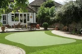 diy backyard putting green large and beautiful photos photo to