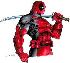sketch please super hero in color