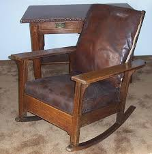 Mission Style Rocking Chair The Sikes Sykes Families Association