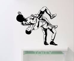 aliexpress com buy wrestling wall sticker sports wrestler vinyl aliexpress com buy wrestling wall sticker sports wrestler vinyl decal gym dorm home room interior decoration teen art mural from reliable wall sticker