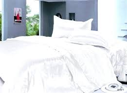 White Silk Bedding Sets White Silk Duvet Cover White Silk Bedding Set Ems Usa