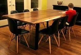 eucalyptus wood dining table impressive wooden furniture solid wood dining tables hudson rustic