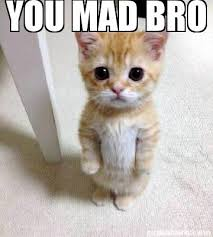 U Mad Bro Meme - meme creator you mad bro meme generator at memecreator org