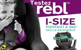 produit siege auto test de produit siège auto rebl de nuna échantillons gratuits