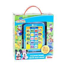 mickey mouse clubhouse electronic me reader u0026 books set