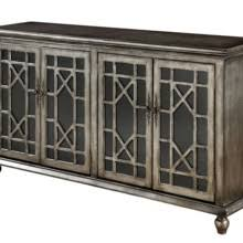 Apothecary Media Cabinet Red Apothecary Media Console Statement Furnishings Outlet