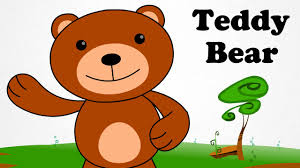 teddy bear teddy bear turn around cartoon nursery rhymes songs