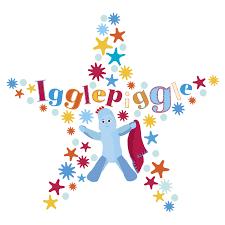 stickerscape igglepiggle star wall sticker regular size