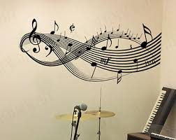 Musical Note Decorations Wall Art Ideas Design Guitar Decorations Music Wall Art Notes