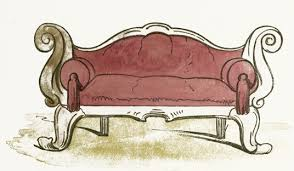 old fashioned sofas sofa clipart old fashioned pencil and in color sofa clipart old