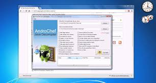 decompile apk androchef decompiler how to decompile apk file