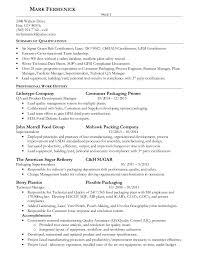 Resume Document 2016 Fermenick Resume Doc