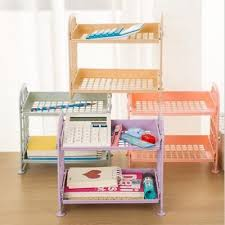martha stewart desk blotter desktop storage rack holder file sorter organizer desk tray w 3