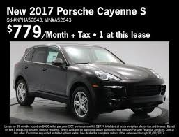 lease a porsche cayenne the auto gallery promotions specials