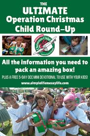 the ultimate operation christmas child round up steadfast family