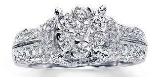 kay jewelers chocolate diamonds wedding rings diamond engagement ring 1 ct tw emerald cut 14k