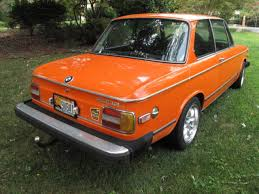 inka orange bmw 2002 bmw 2002 coupe 1975 inka orange original for sale 2363933 1975