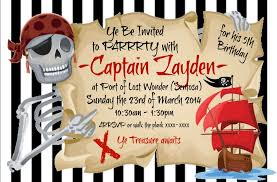 pirate theme party pirate themed party invitation thank you card stickers
