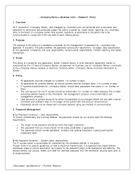 Functional Resume Sample Template It Security Policy Template 10 Sample Cloud Applications Security
